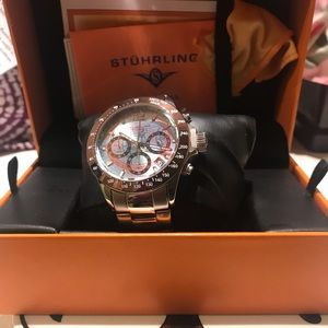 NWT Men's/ Unisex Stuhrling Watch